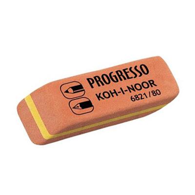 Ластик для карандаша и ручки комбинированный Koh-I-Noor Progresso 80, 6821