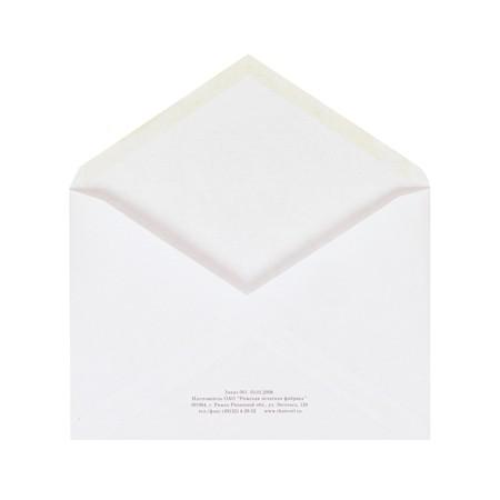 Конверт почтовый С6 Ряжск Куда-Кому, белый, 1000 шт
