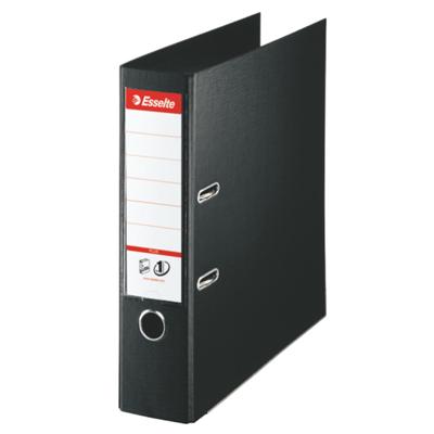 Папка-регистратор А4 Esselte Plus 81187, А4+, 80мм, черная